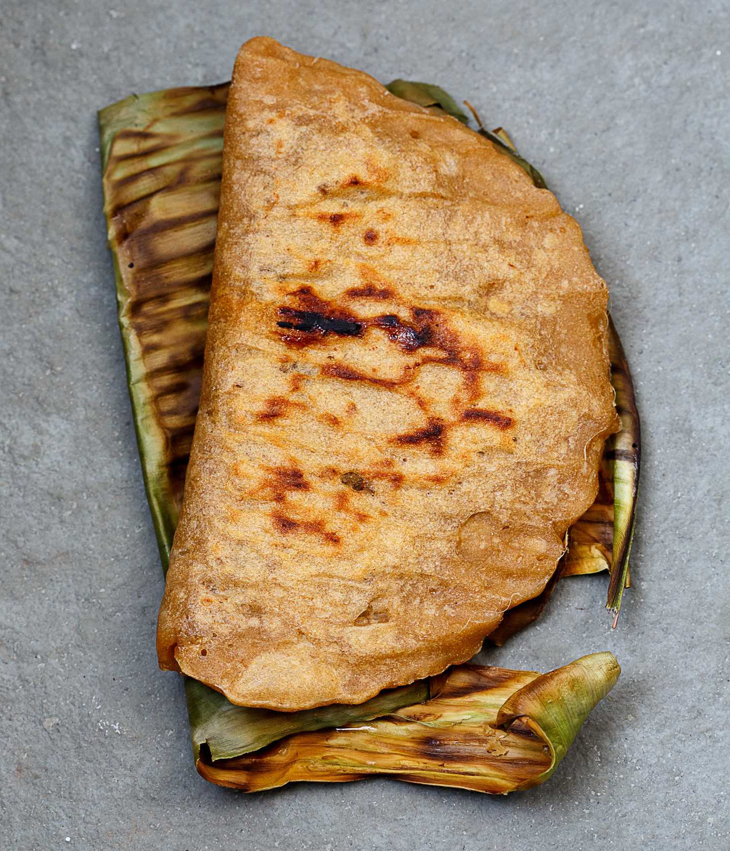 Grilled breakfast dosa